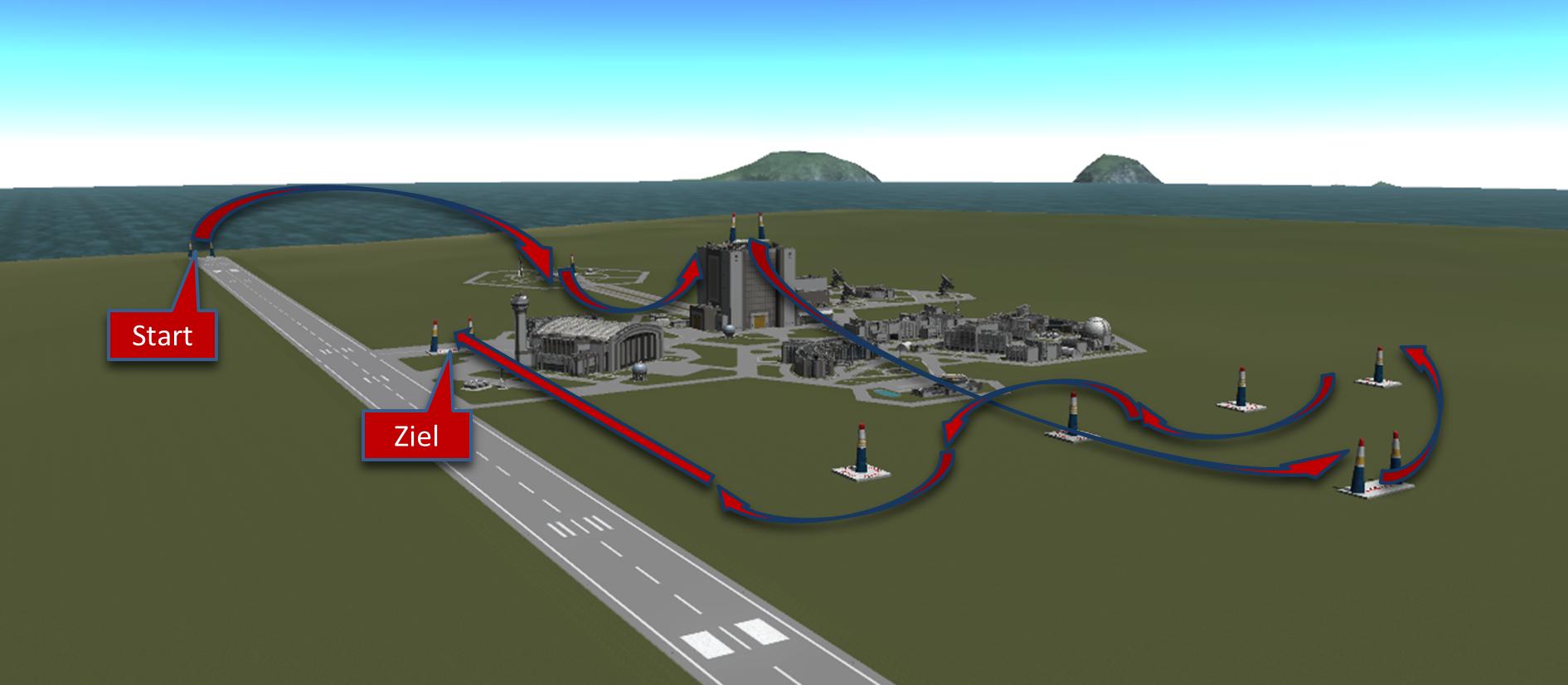 Kraken-Airrace Strecke 1