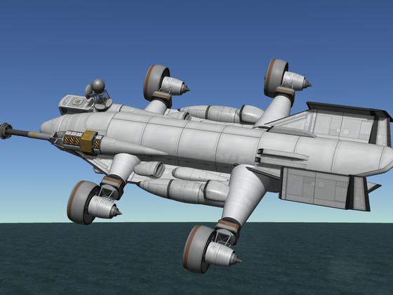 Cargo VTOL