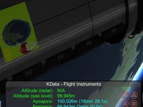 KS Data markiert blauen Orbit