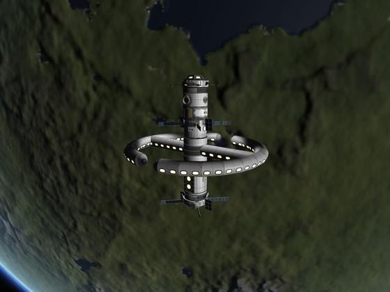 Meine neue Raumstation inspiriert durch KnutG