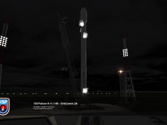 Start Falcon 9 1.1 mit OrbComm 2A #2