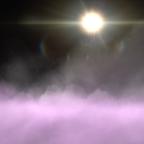 Lila/Rosa Wolken