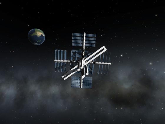 Orbitaler Launchpad