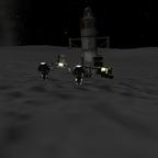 Erste Erfolgreiche Landung auf dem Mun