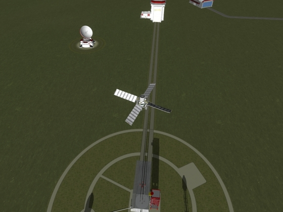 Prototyp eines Helikopters aus Stock-Parts
