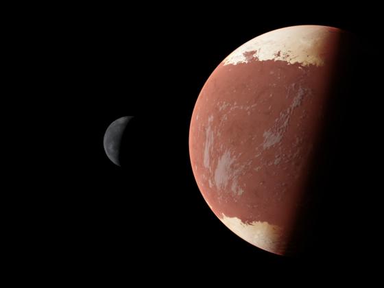 Duna-Ike System mit Terragen gerendert (4K)