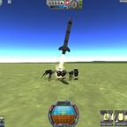 Abschuss der Rakete