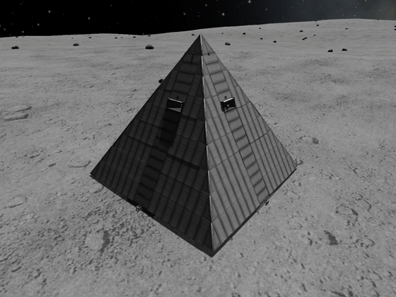 Pyramide auf Mun