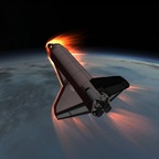 Stock Space Shuttle 1.2.2  Wiedereintritt