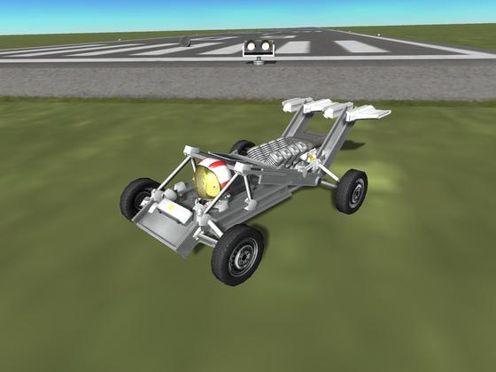 Der Kerbal-V8