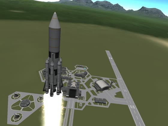 Moonshot 10t Trägerrakete
