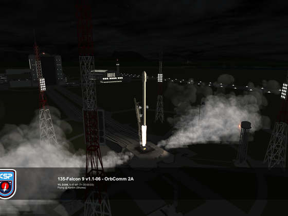 Start Falcon 9 1.1 mit OrbComm 2A #5