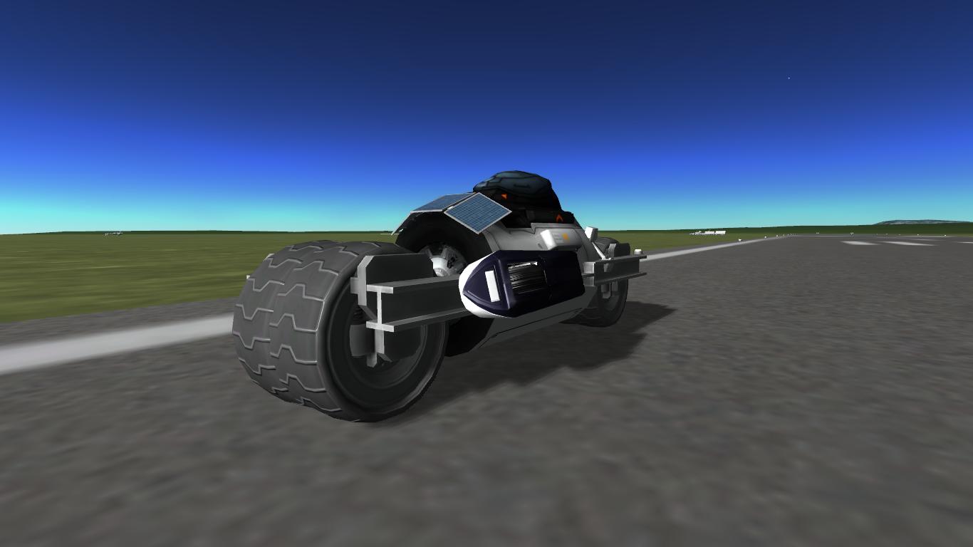 """MotorcycleOne - das erste """"zweirädrige"""" Fahrzeug"""