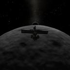 Munflyby mit der DSX