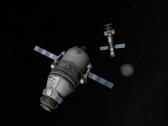 Sawi Orbiter und Benefit Station