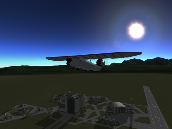 Galaxy 1 - VTOL-Propellerflugzeug