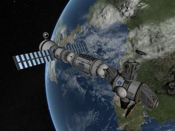 ISS Nachbau - PMA-3 Modul
