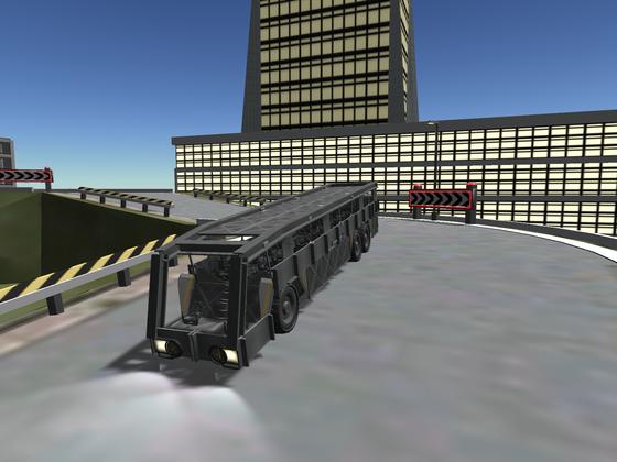 Reisebus gesichtet!