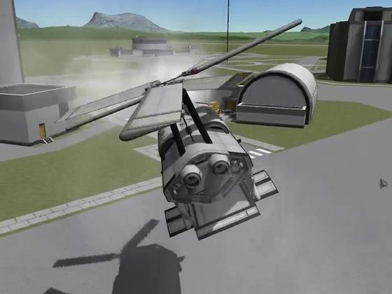 Chinook Compact - Demoflug