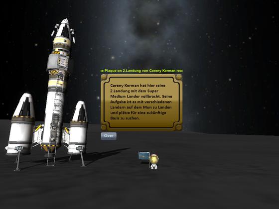 Erfolgreiche Landung des Super Medium Landers