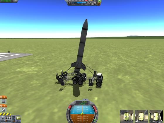 Mobiler Raketenwerfer