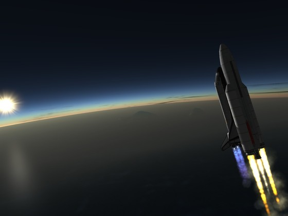 meine KSP Shuttle Version