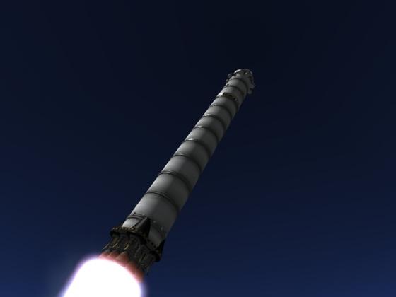Meine Stock Falcon 9