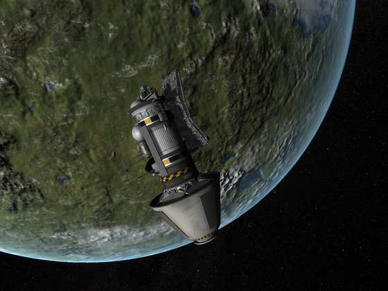 Priroda Module - Mir Station