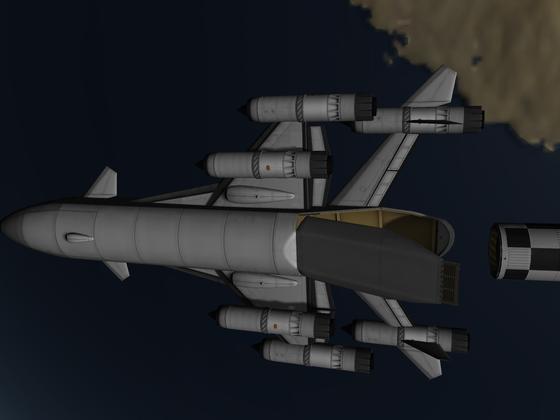 Raumfrachter