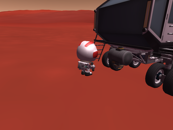 Seilwinde für den großen Rover