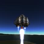 Duna lander 1  testflug