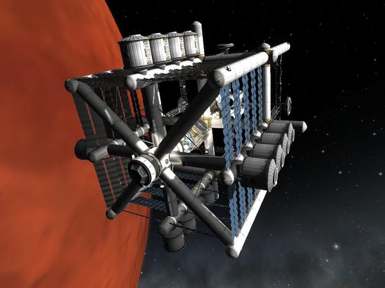 Raumstationsstudien die 2.