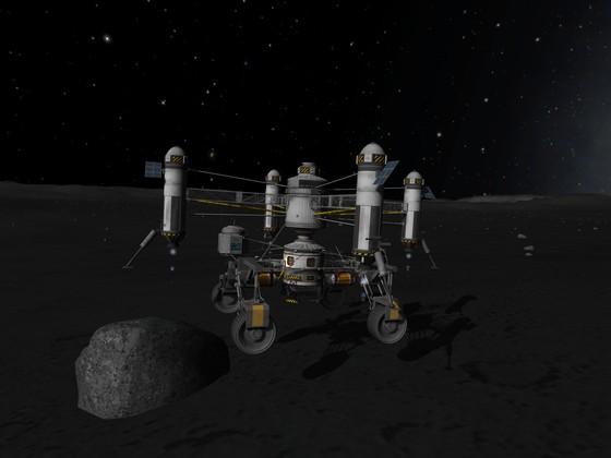 Karbonite Minig Rover