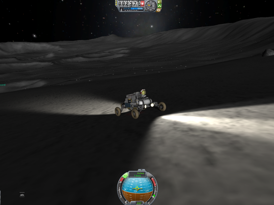 Krasser Krater