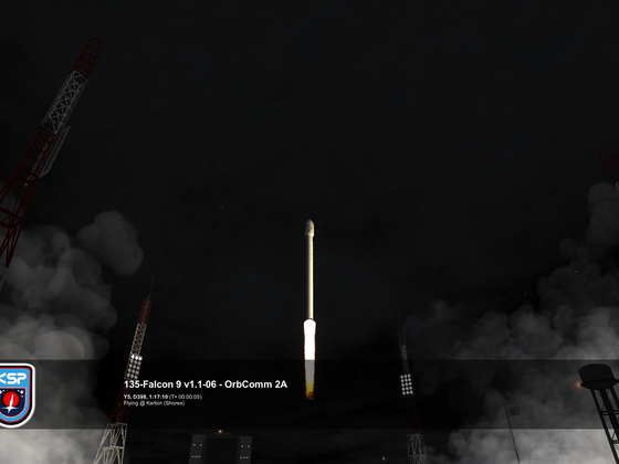 Start Falcon 9 1.1 mit OrbComm 2A #6