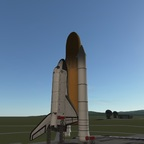 Space Shuttle mit Mods KSP 1.2.2