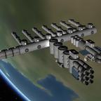 Kerbin Industrie Raumhafen