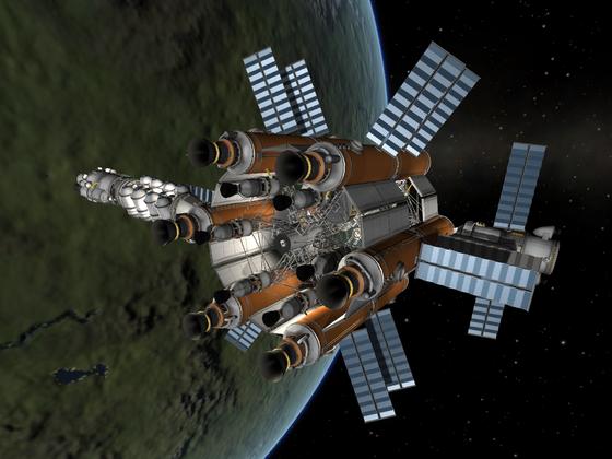 Meine Neue Weltraumtanke.