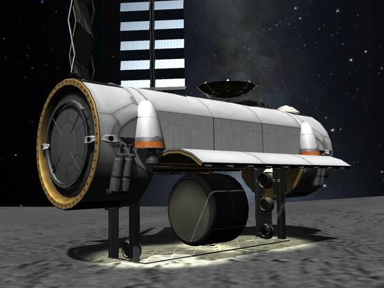 Cargo Lander, verbessert