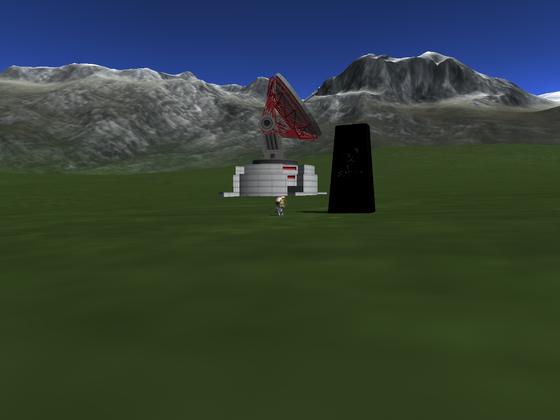 Monolith am 2. KSC