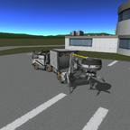MackTruck mit funktionierenden Königszapfen