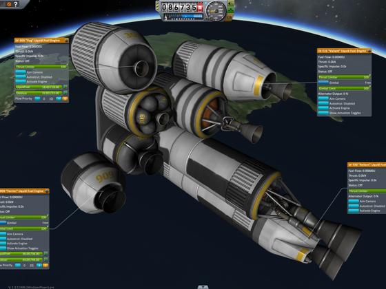 1.2 Test der neuen Raketenteile