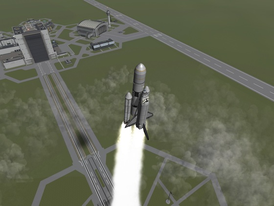 Stock Space Shuttle 1.2.2 lift off