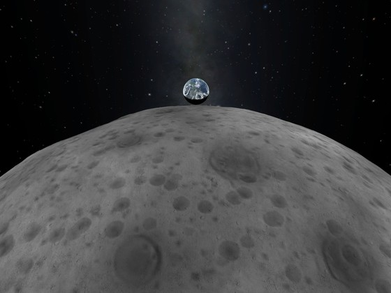 earth upcoming over Mun
