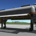 Cargo Bay mit ausfahrbarer Plattform