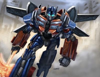 Optimus Prime Vorlage