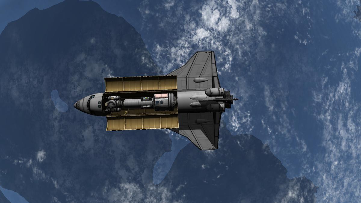 NASA-Spaceshuttle (100% Stock)