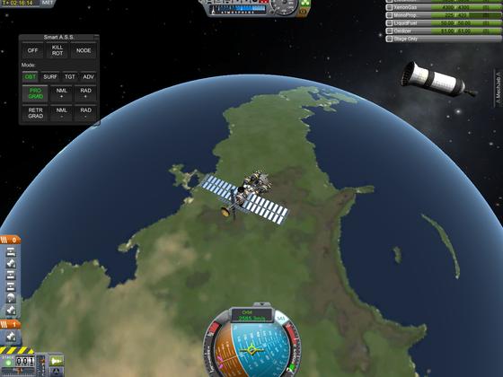 DSX im Orbit