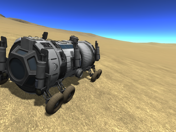 HAFM bemannter Duna Rover