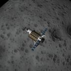 Shuttle im Orbit um MUN ^^